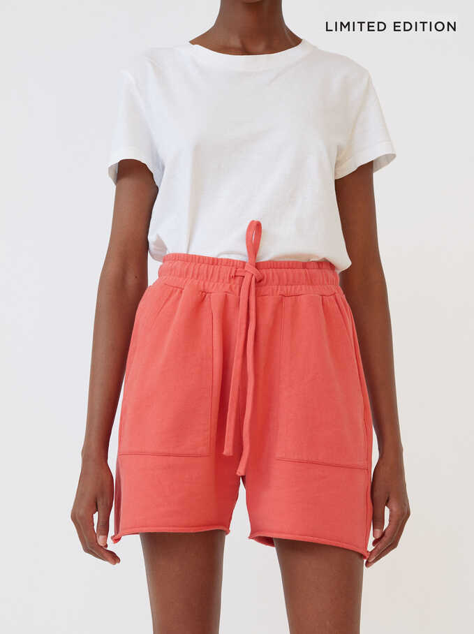 Shorts Avec Poches Limited Edition, Rose, hi-res