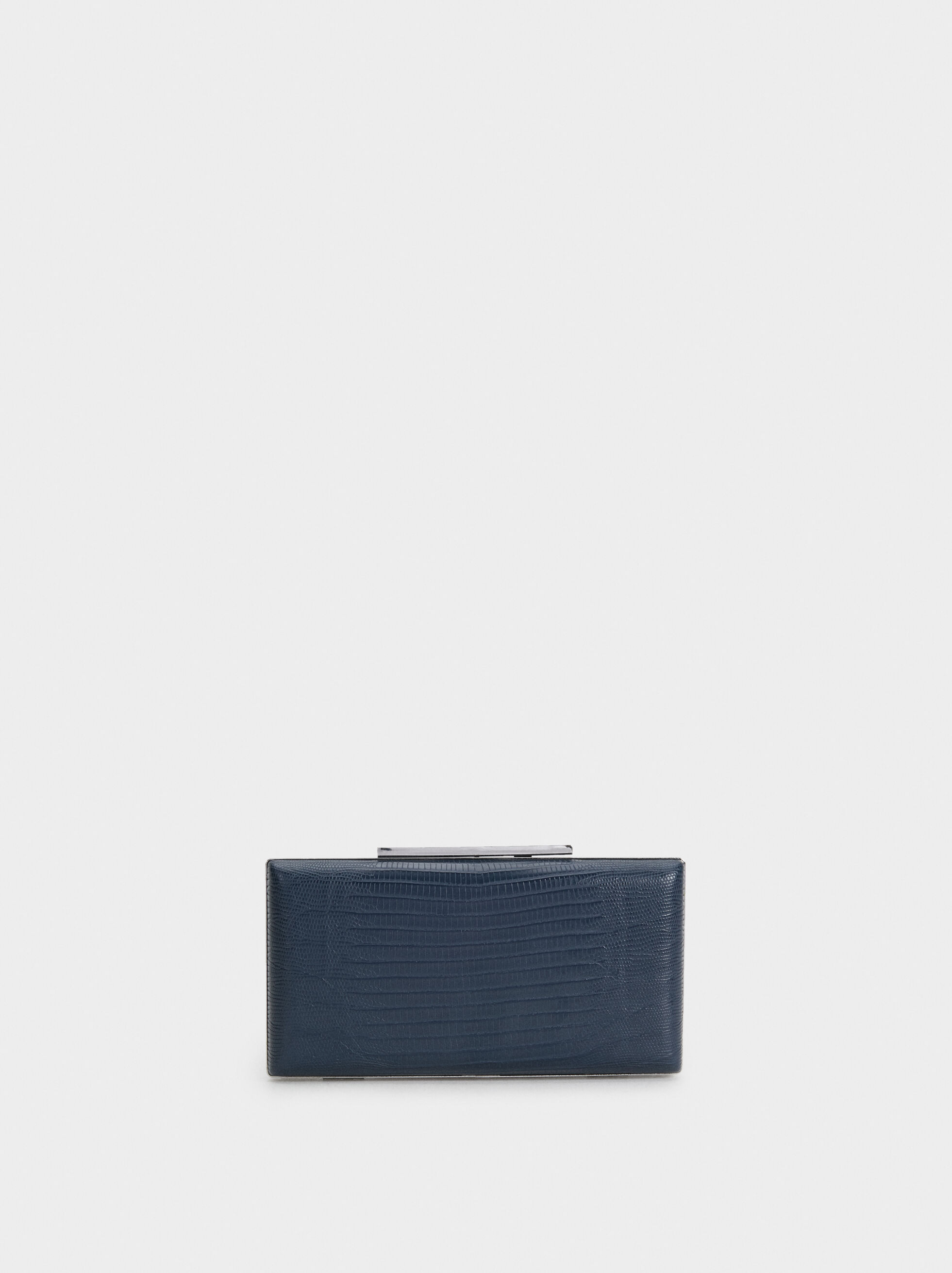 Gate Party Clutch, Navy, hi-res