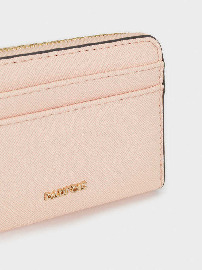 Basic Small Purse, Pink, hi-res
