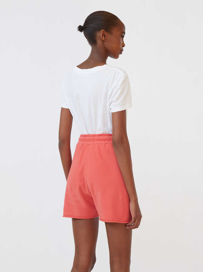 Shorts With Pockets, Pink, hi-res
