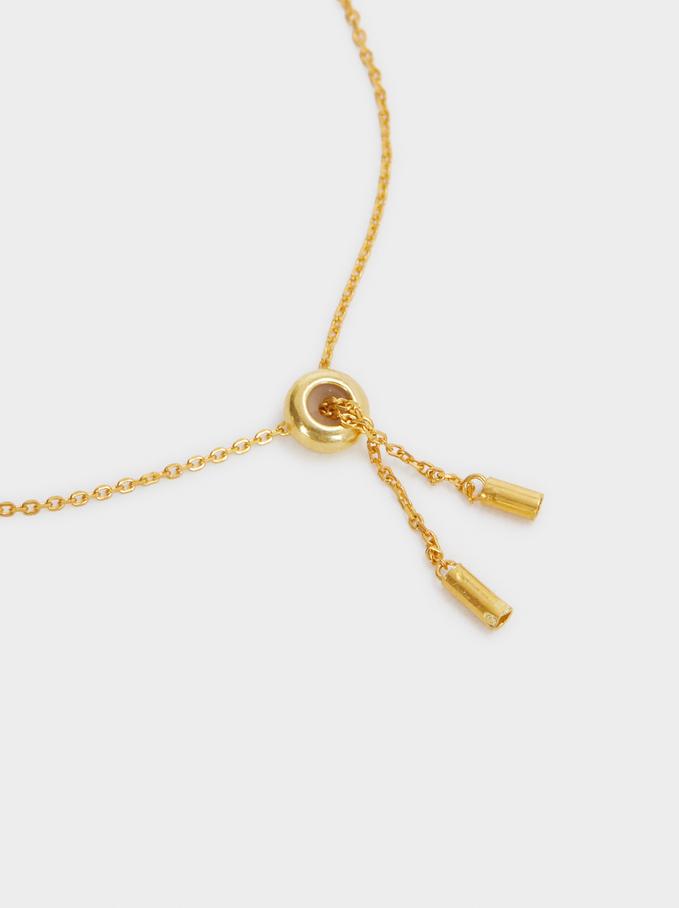 Braccialetto Regolabile In Argento 925, D'oro, hi-res