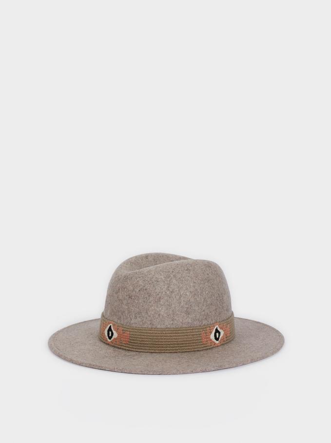 Chapéu De Lã , Cinzento, hi-res