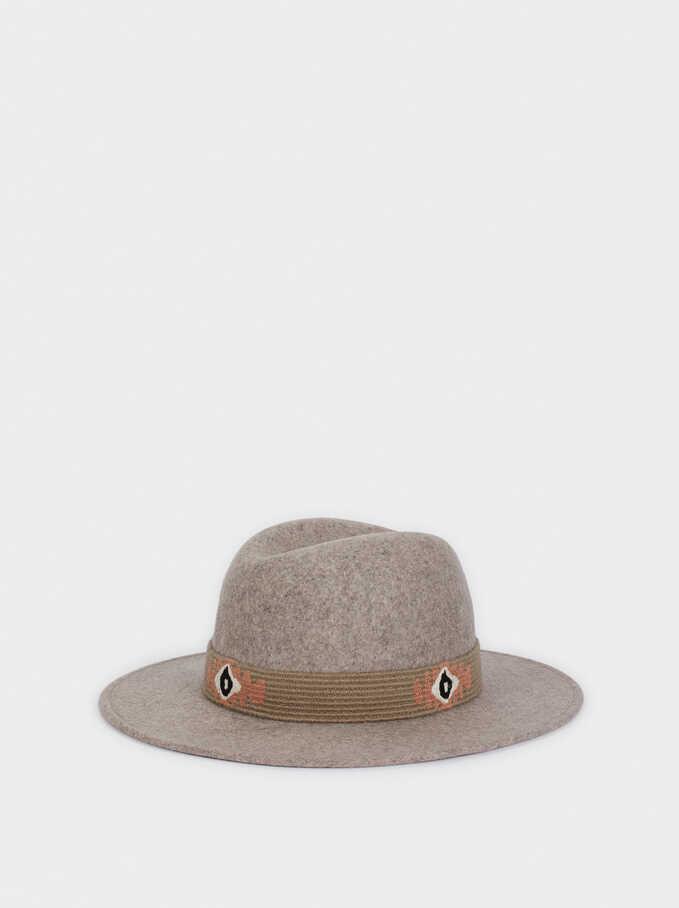Sombrero De Lana , Gris, hi-res