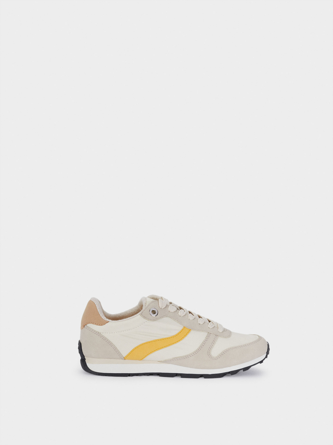 Contrast Sneakers, Multicolor, hi-res
