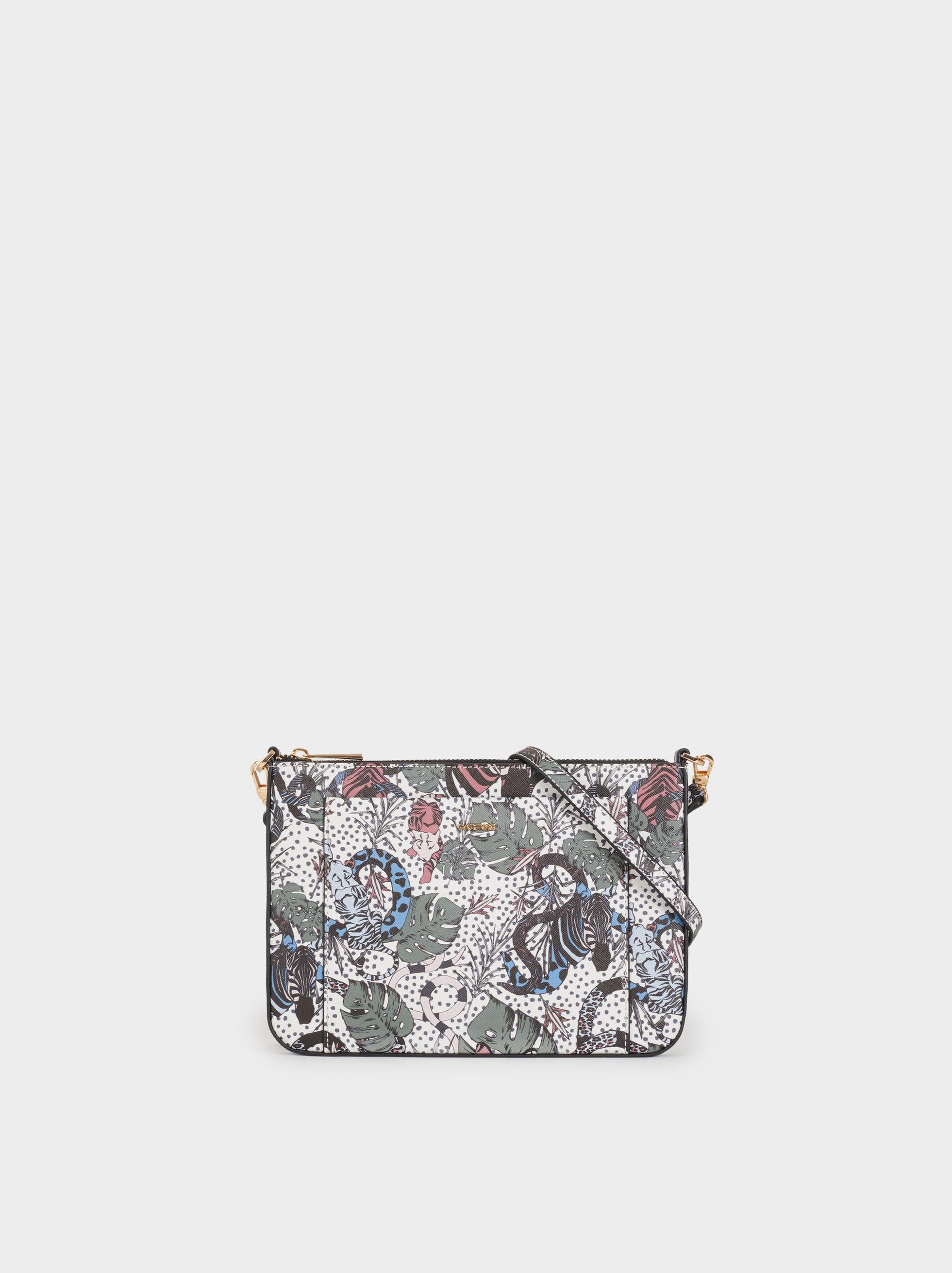 Printed Crossbody Bag, , hi-res