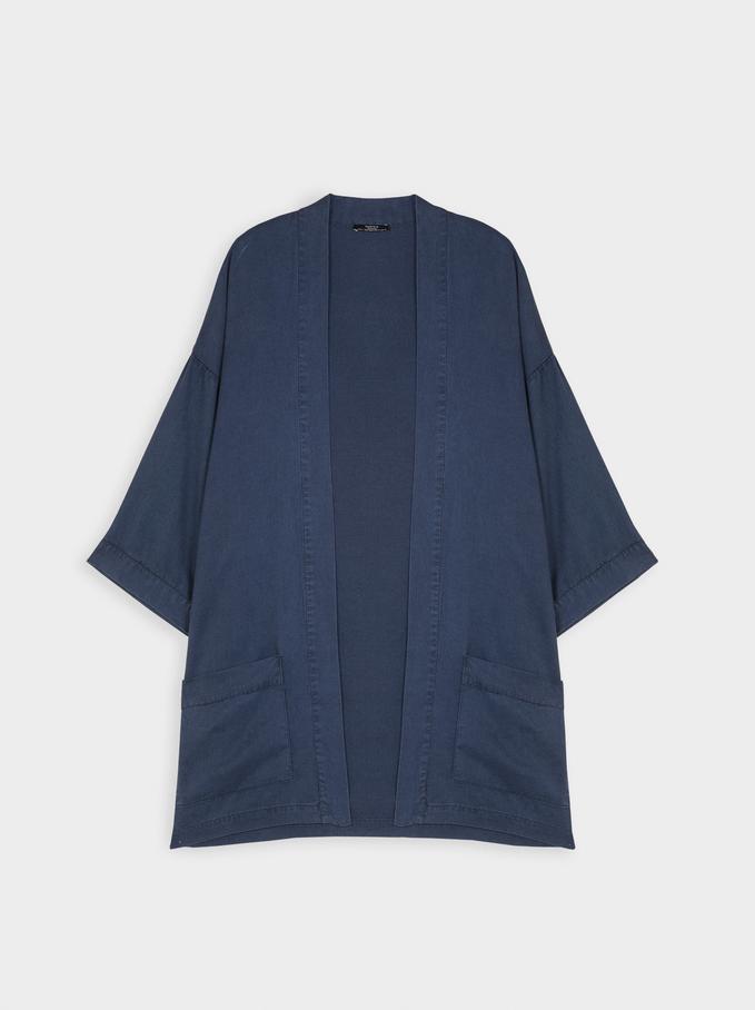 Kimono , Bleu, hi-res