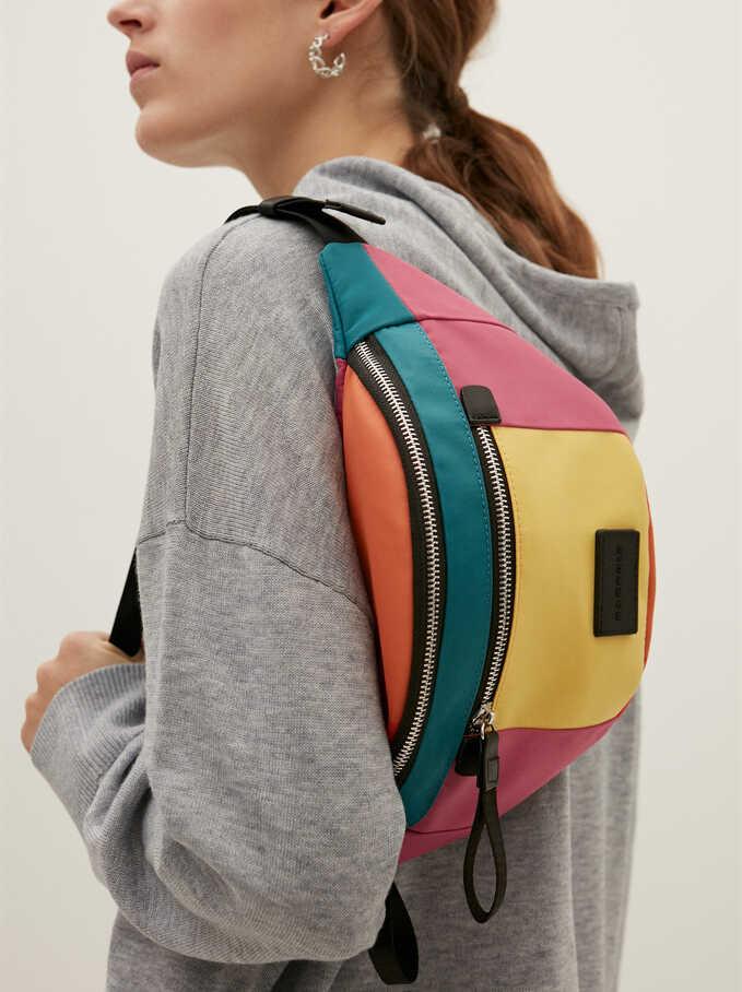 Nylon Belt Bag, Pink, hi-res