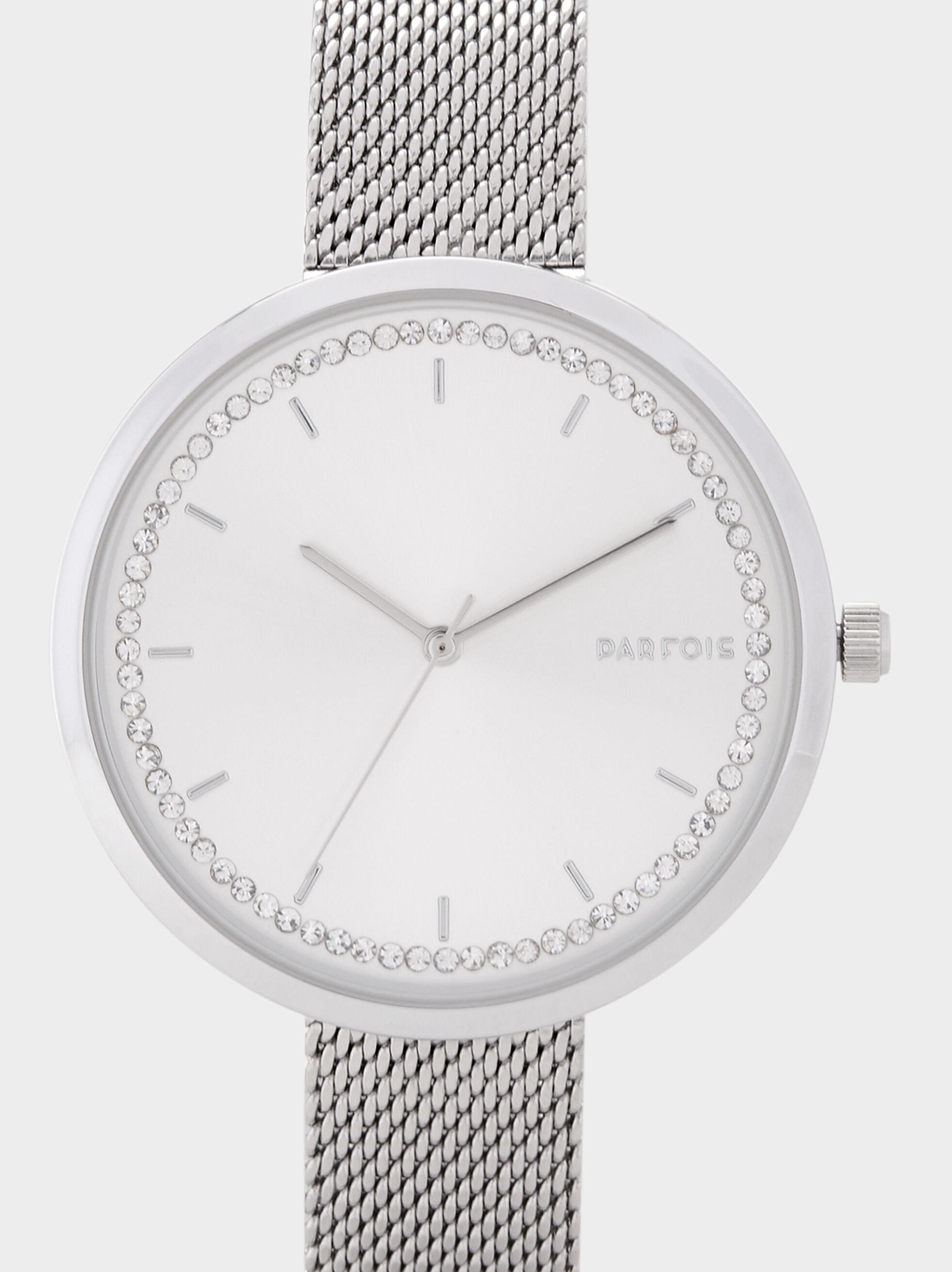 Silver Online Exclusive Watch, Silver, hi-res