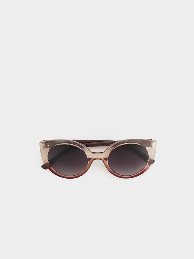 Resin Sunglasses, Bordeaux, hi-res