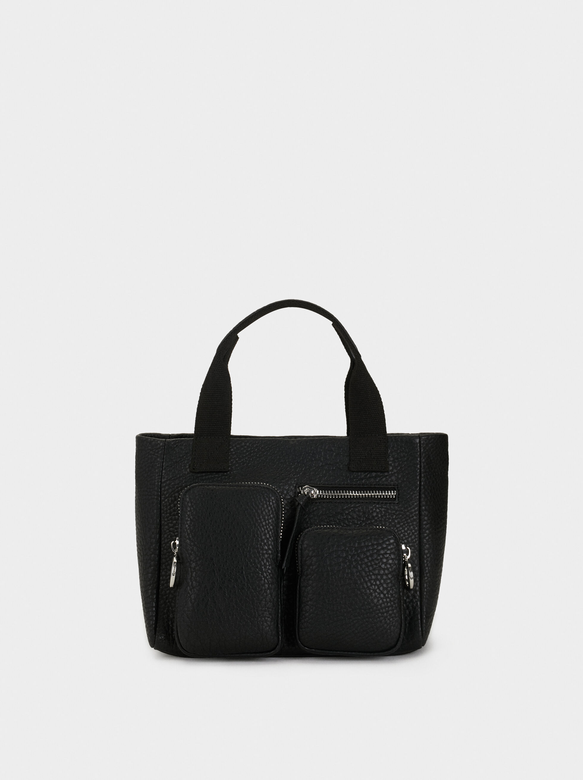 Tote Bag With Pockets, , hi-res