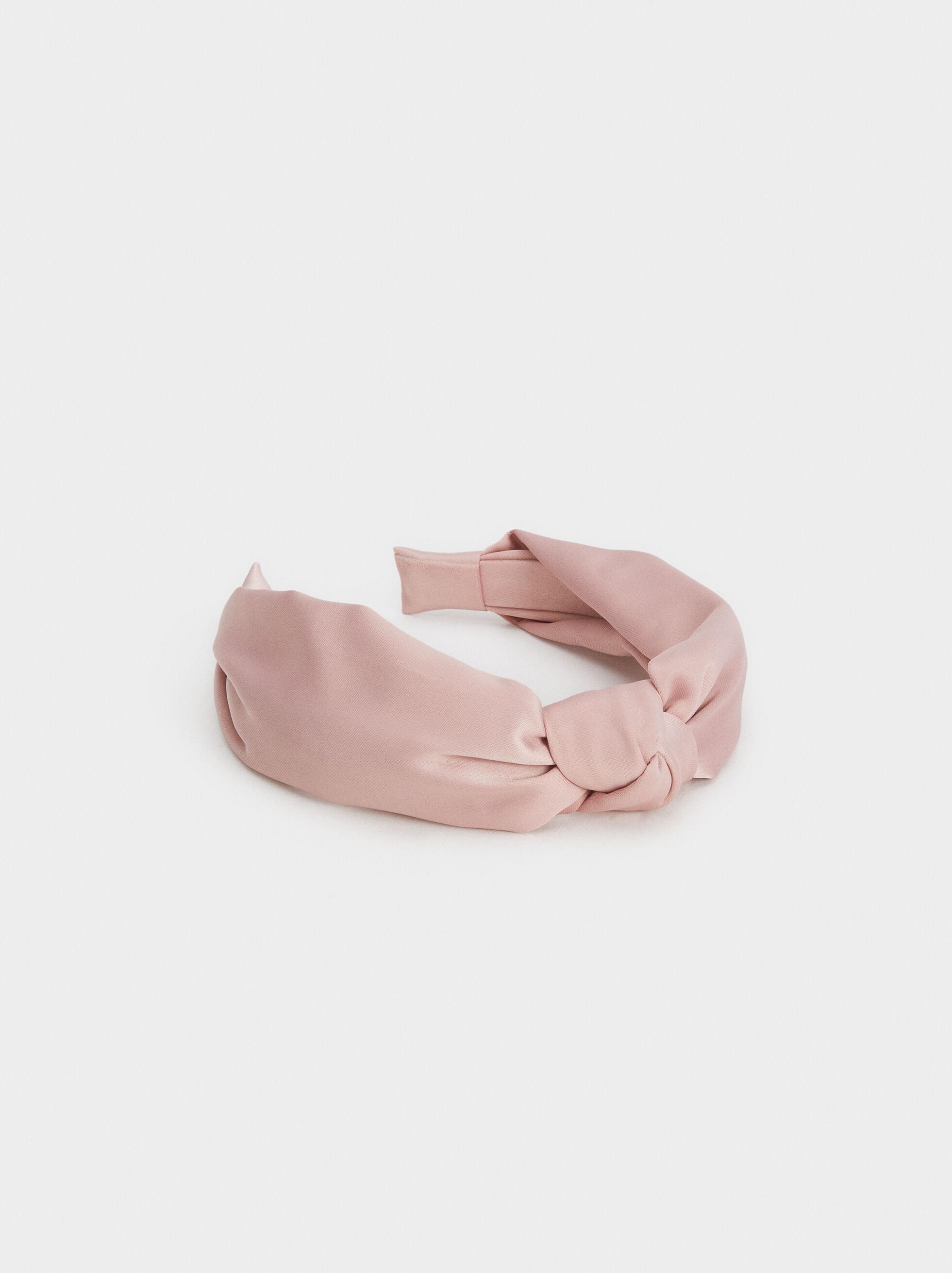 Knot Headband, Pink, hi-res