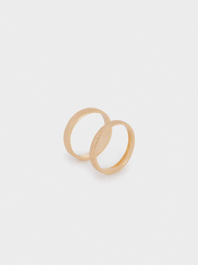 Band Ring, Golden, hi-res