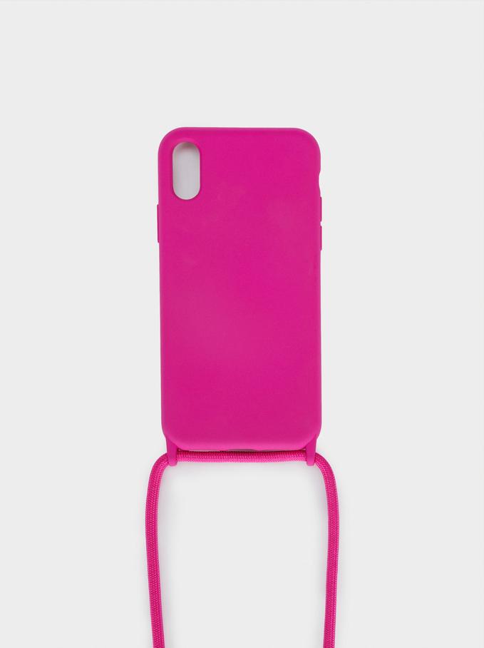 Iphone X Phone Case, Pink, hi-res