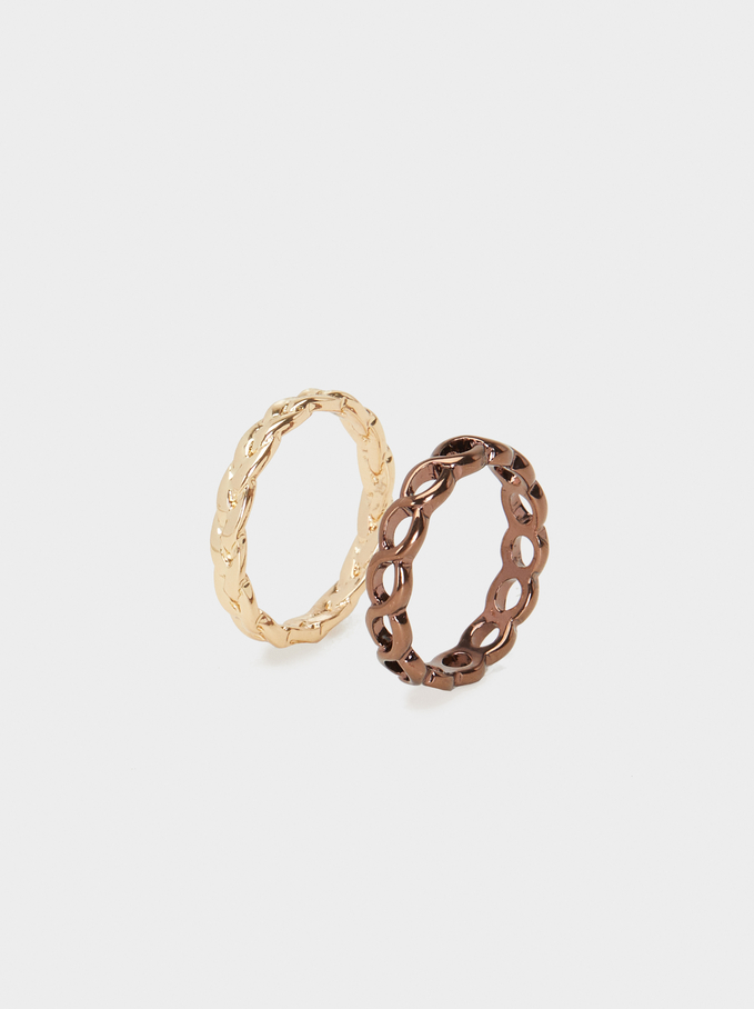 Blog Ring Set, Multicolor, hi-res