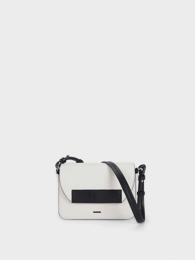 Crossbody Bag With Removable Lining, White, hi-res