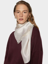 Two-Tone Wedding Scarf, Pink, hi-res