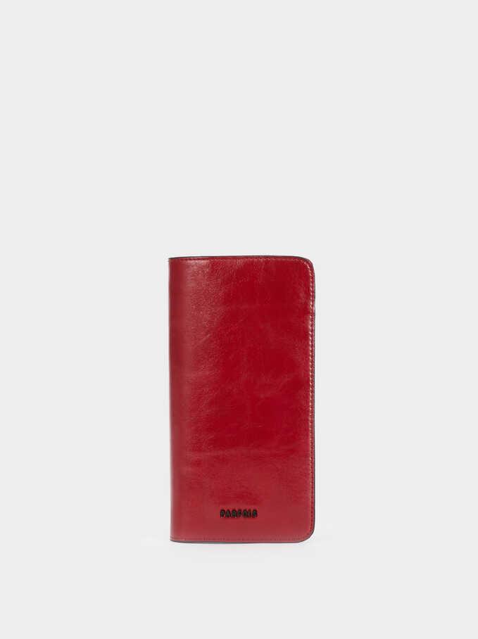 Fauna Wallet Document Holder, Red, hi-res