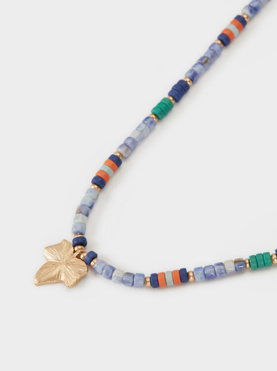 Zorba Short Necklace With Beading, Multicolor, hi-res