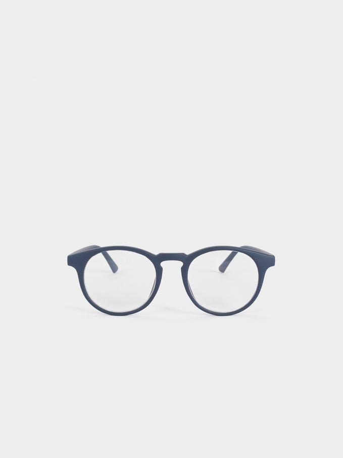 Graduated Reading Glasses, Navy, hi-res