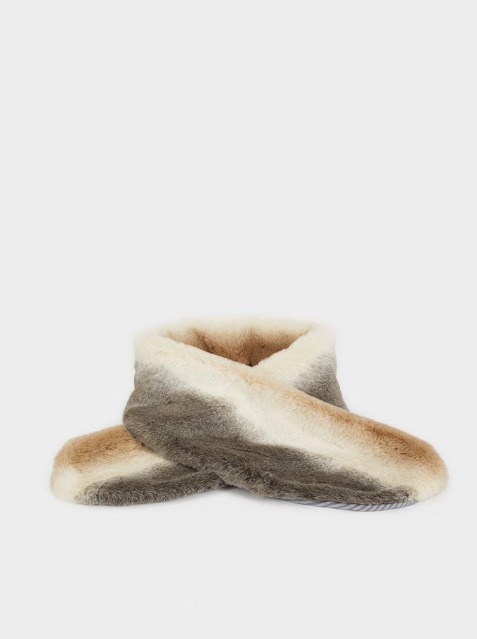 Lavanda Frost Fur Stoles, Grey, hi-res
