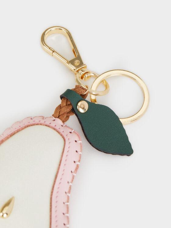 Pear KeyRing, Pink, hi-res
