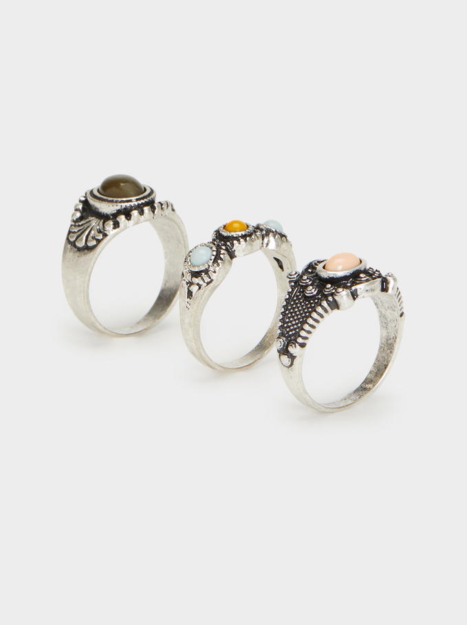 Star Valley Ring Set, Multicolor, hi-res