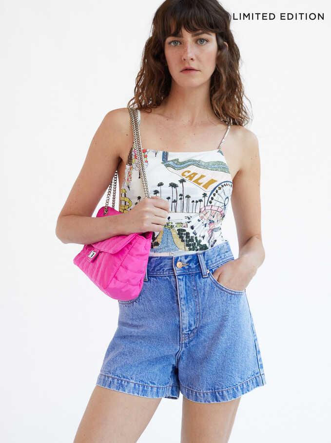 Pantalones Cortos Denim Limited Edition, Azul, hi-res