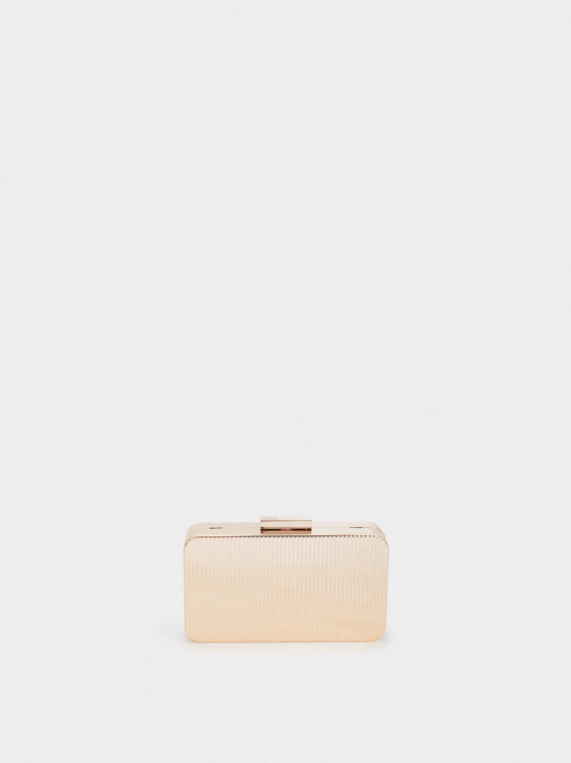Metal Box Clutch , , hi-res
