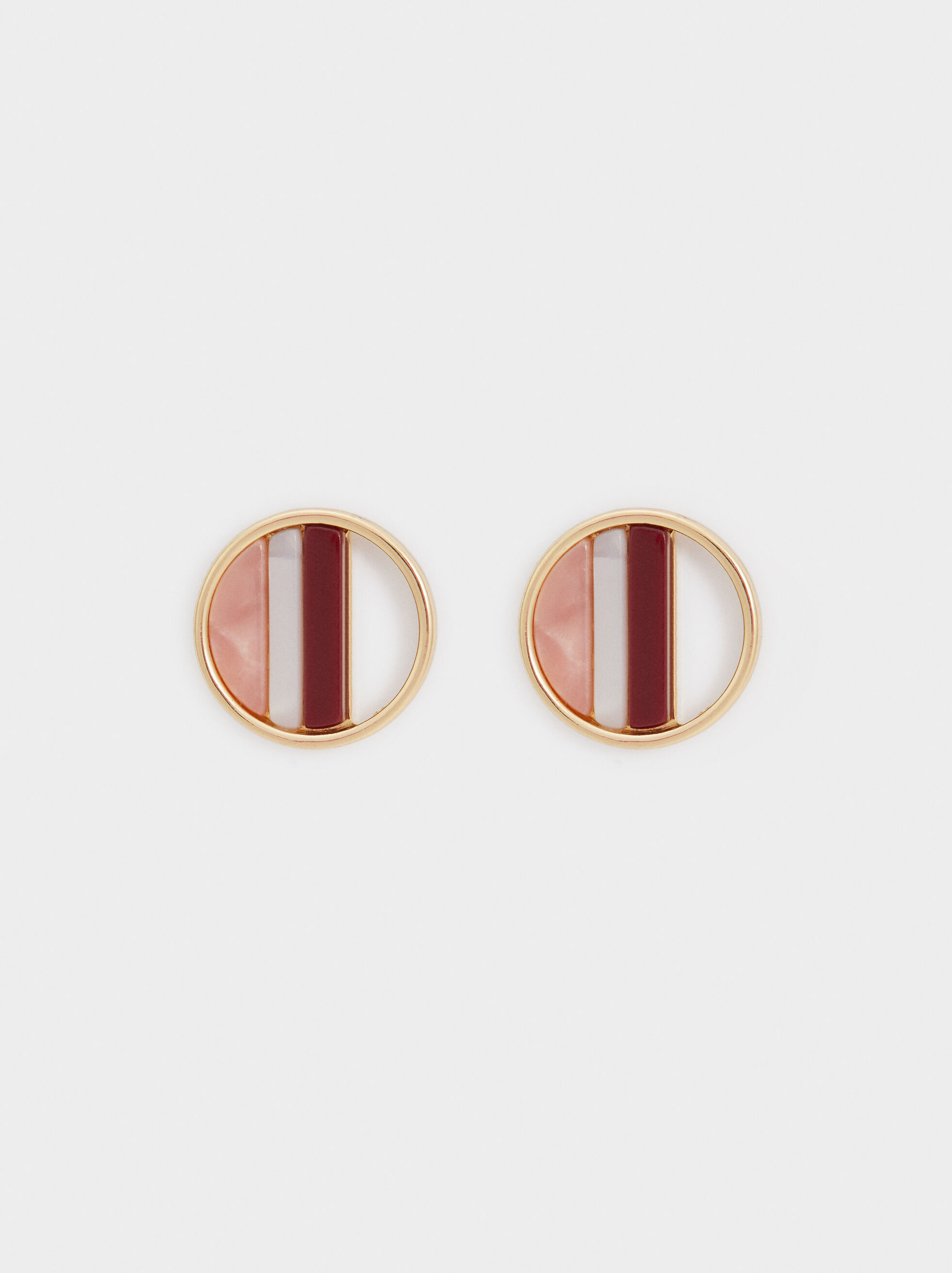 Land Circular Studs, Multicolor, hi-res