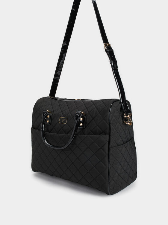 Michelle Weekend Bag, Black, hi-res