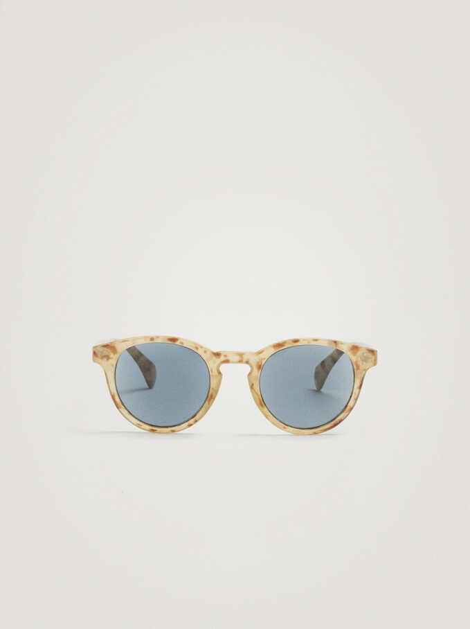 Gafas De Sol Graduadas, Beige, hi-res