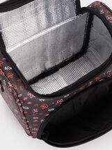 We Are Love Print Lunch Bag, Black, hi-res