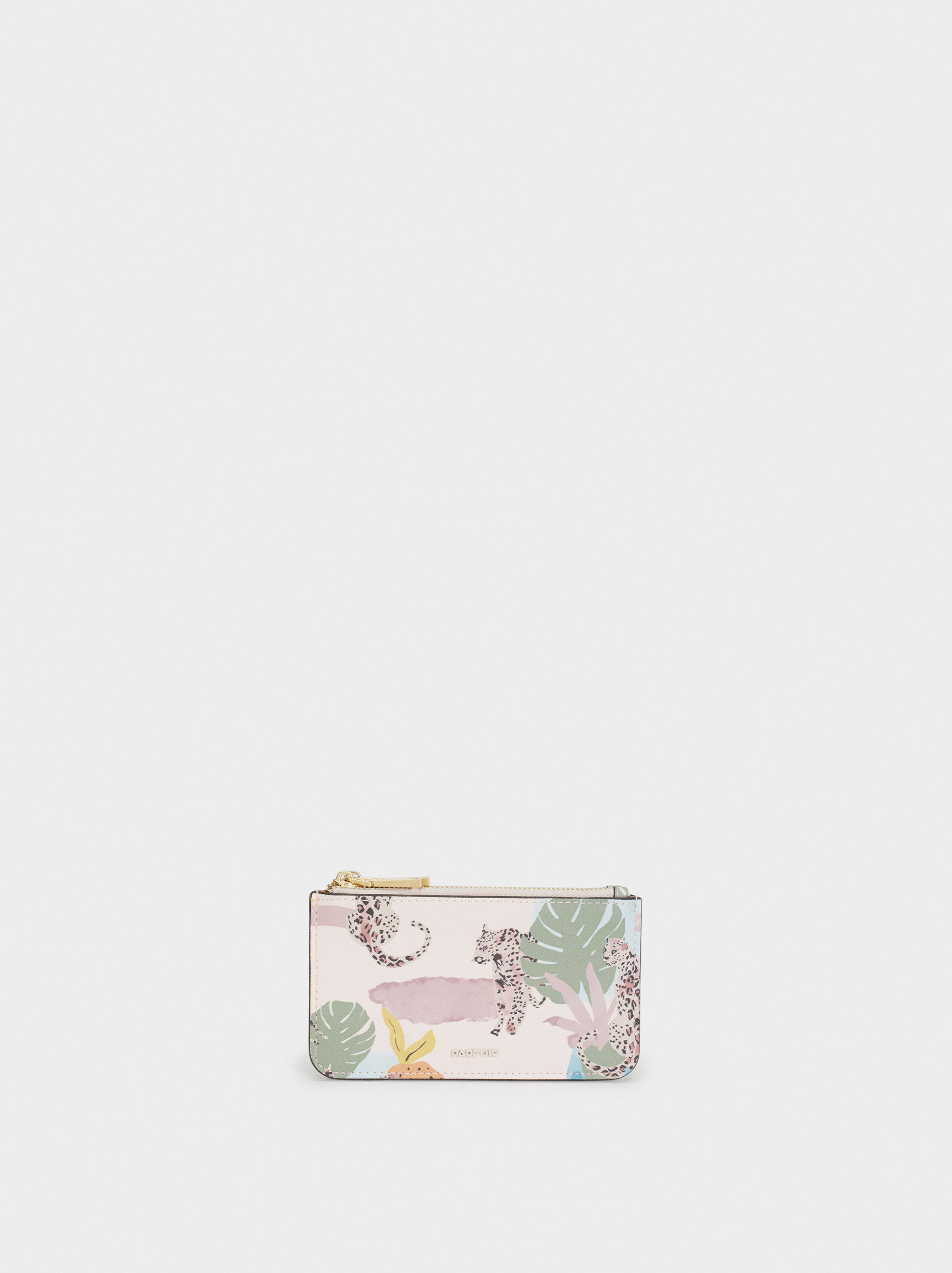 Printed Multi-Purpose Bag, Pink, hi-res