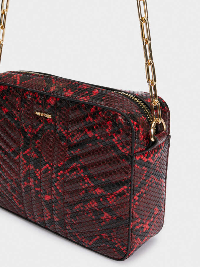 Dark Shadow Cross Bag, Red, hi-res