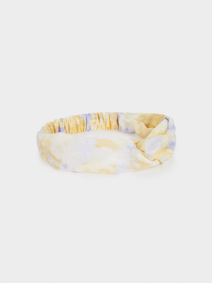 Diadema Turbante Tie-Dye, Multicor, hi-res