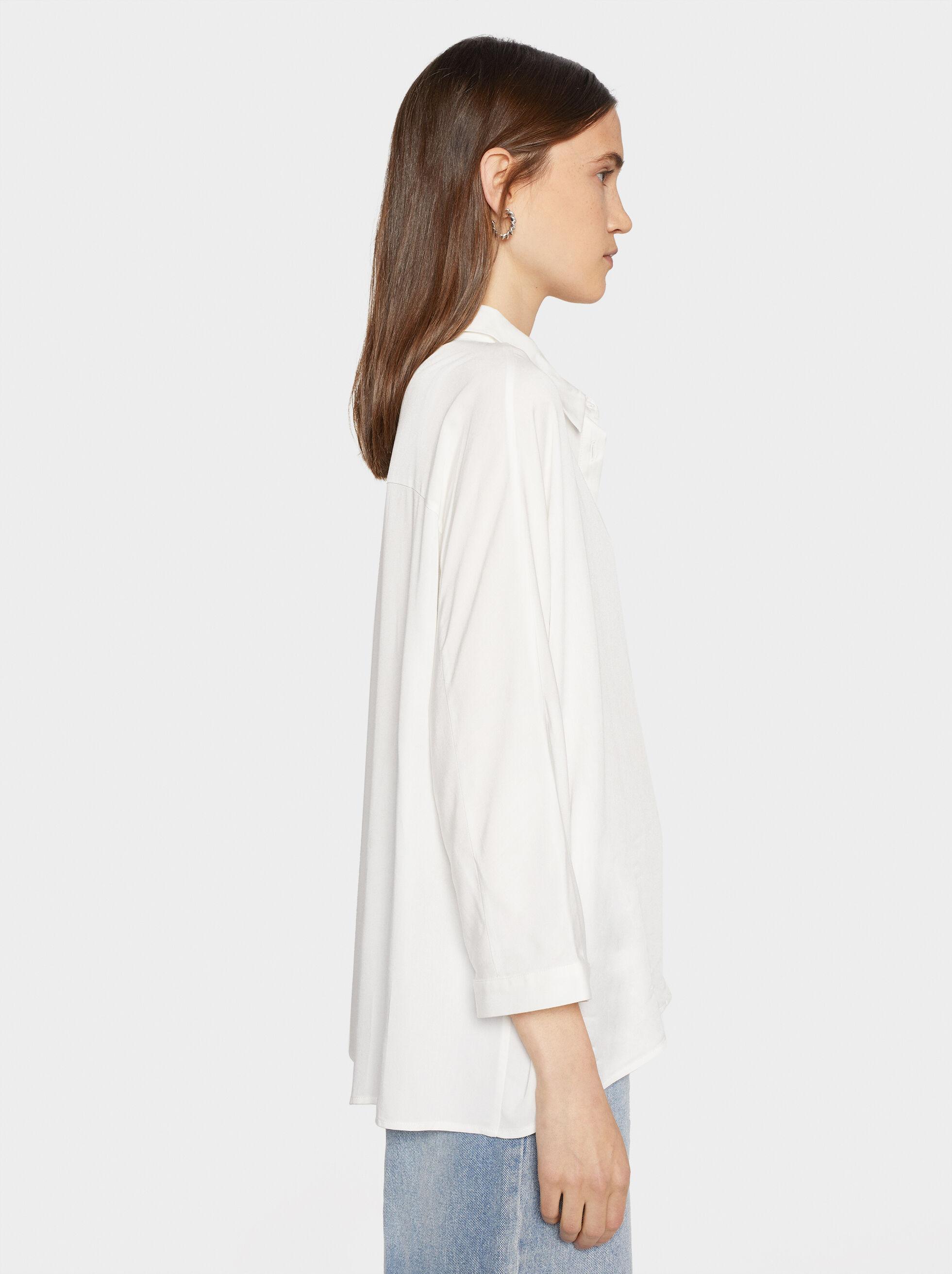 Camisa Basic, Blanco, hi-res