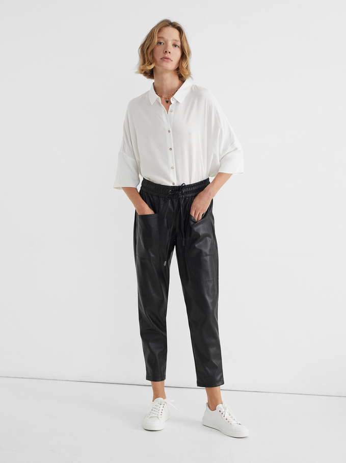 Camisa Oversize Lisa, Blanco, hi-res