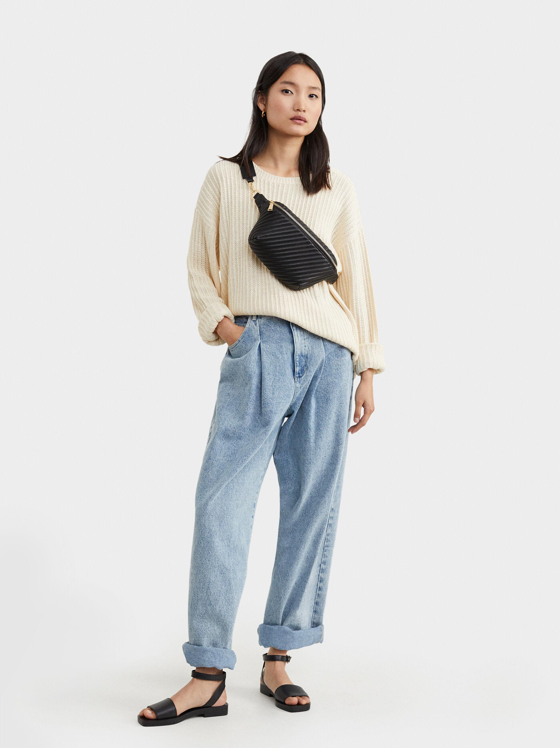 Quilted Belt Bag, , hi-res