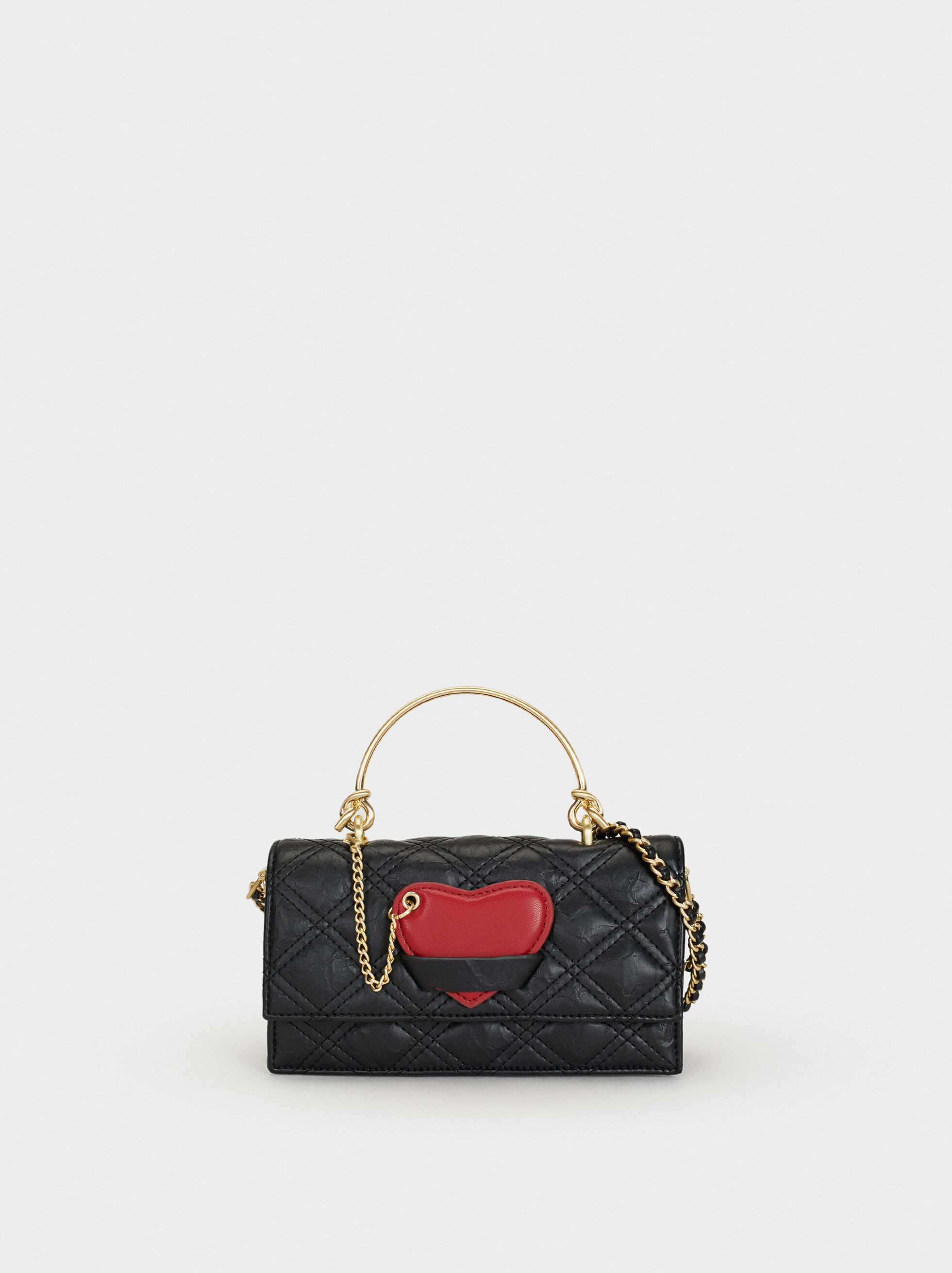 We Are Love Heart Shoulder Bag, , hi-res