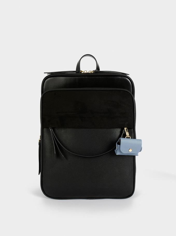 Rucksack Für Ein 15-Zoll-Laptop, Schwarz, hi-res