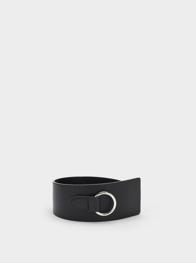 Sash Belt, Black, hi-res