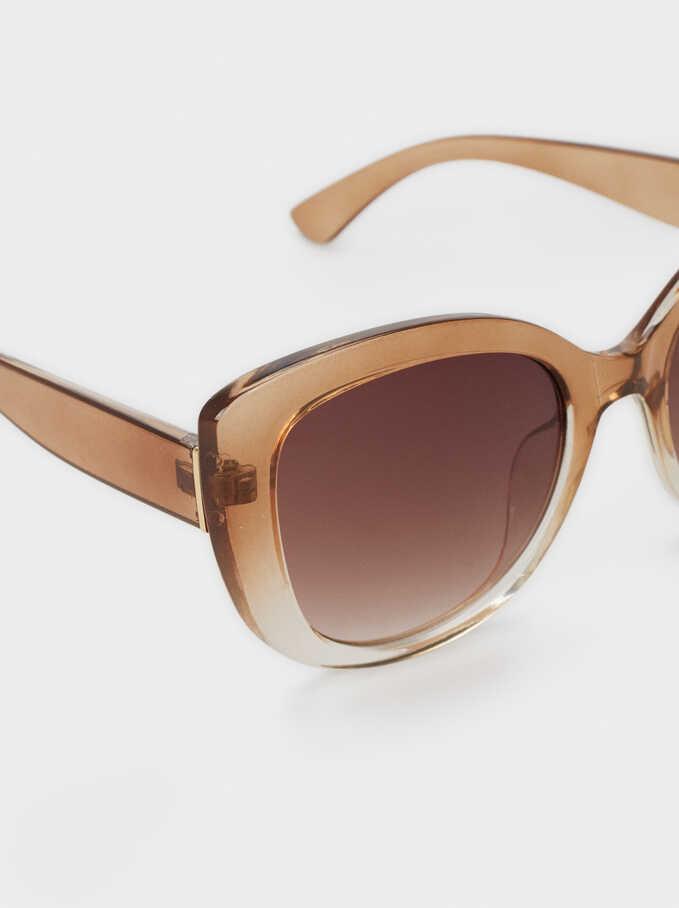 Resin Sunglasses, Camel, hi-res