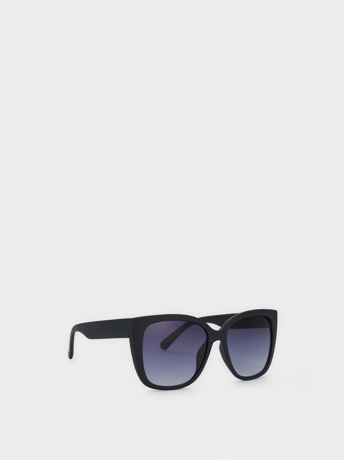 Gafas De Sol Cat Eye, Negro, hi-res