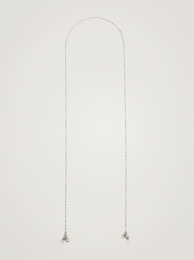 Chain For Sunglasses Or Mask, Silver, hi-res