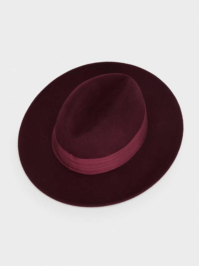 Wool Hat, Bordeaux, hi-res