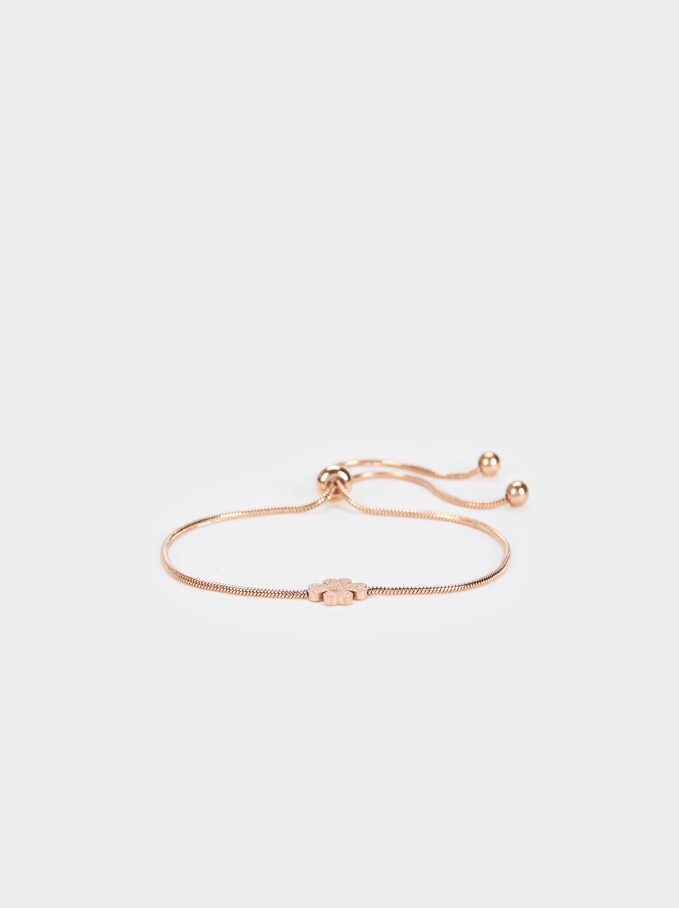 Steel Bracelet, Orange, hi-res