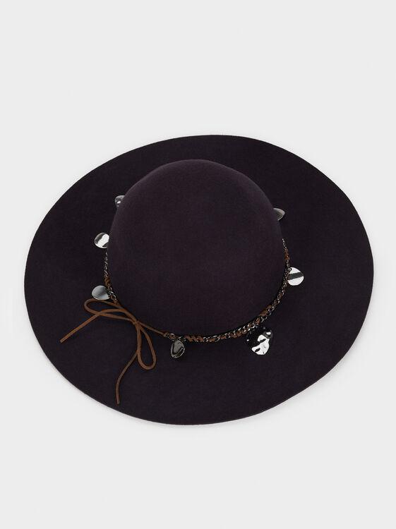 Wool Hat, Blue, hi-res