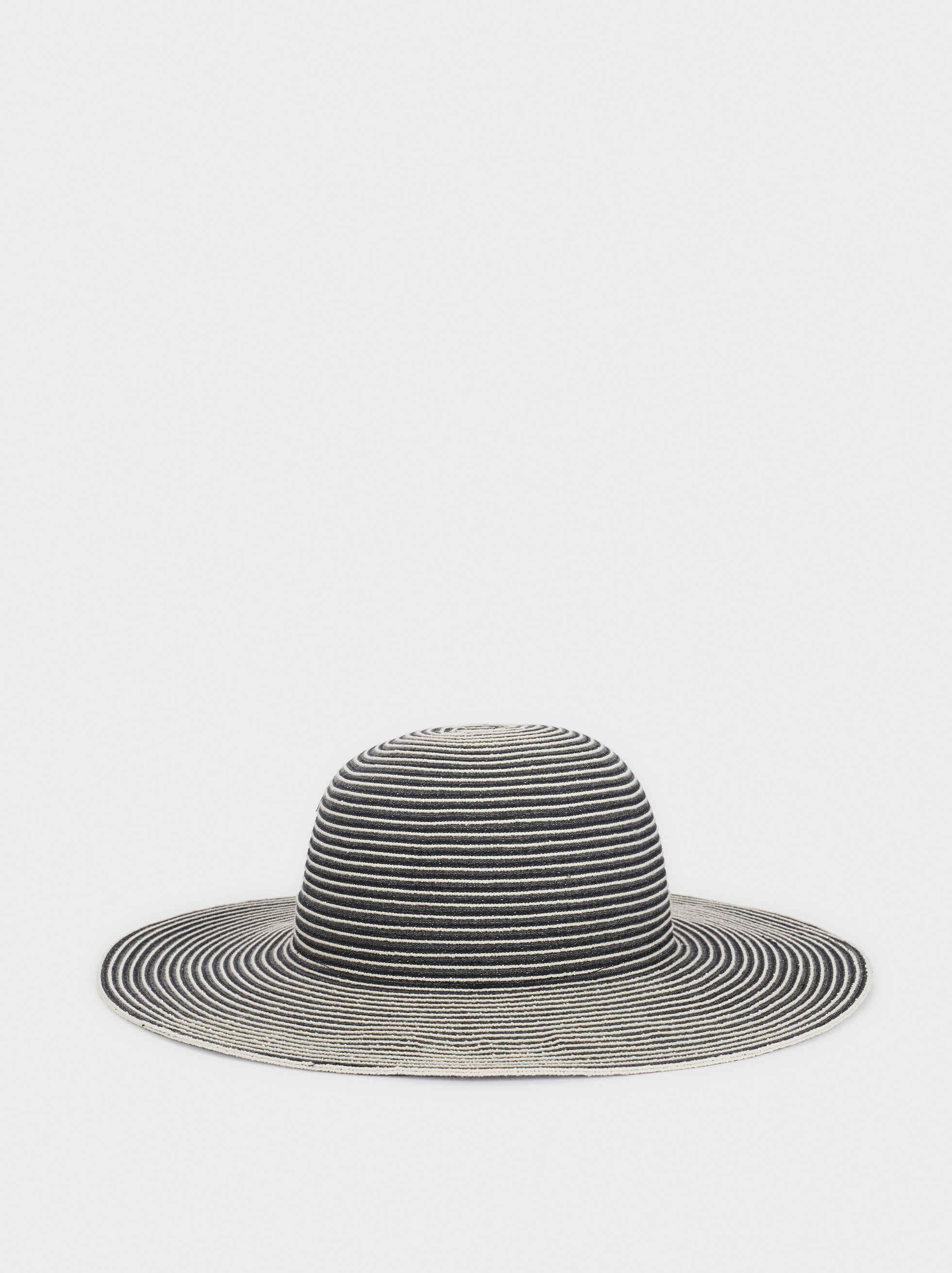 Sombrero De Rayas, Gris, hi-res