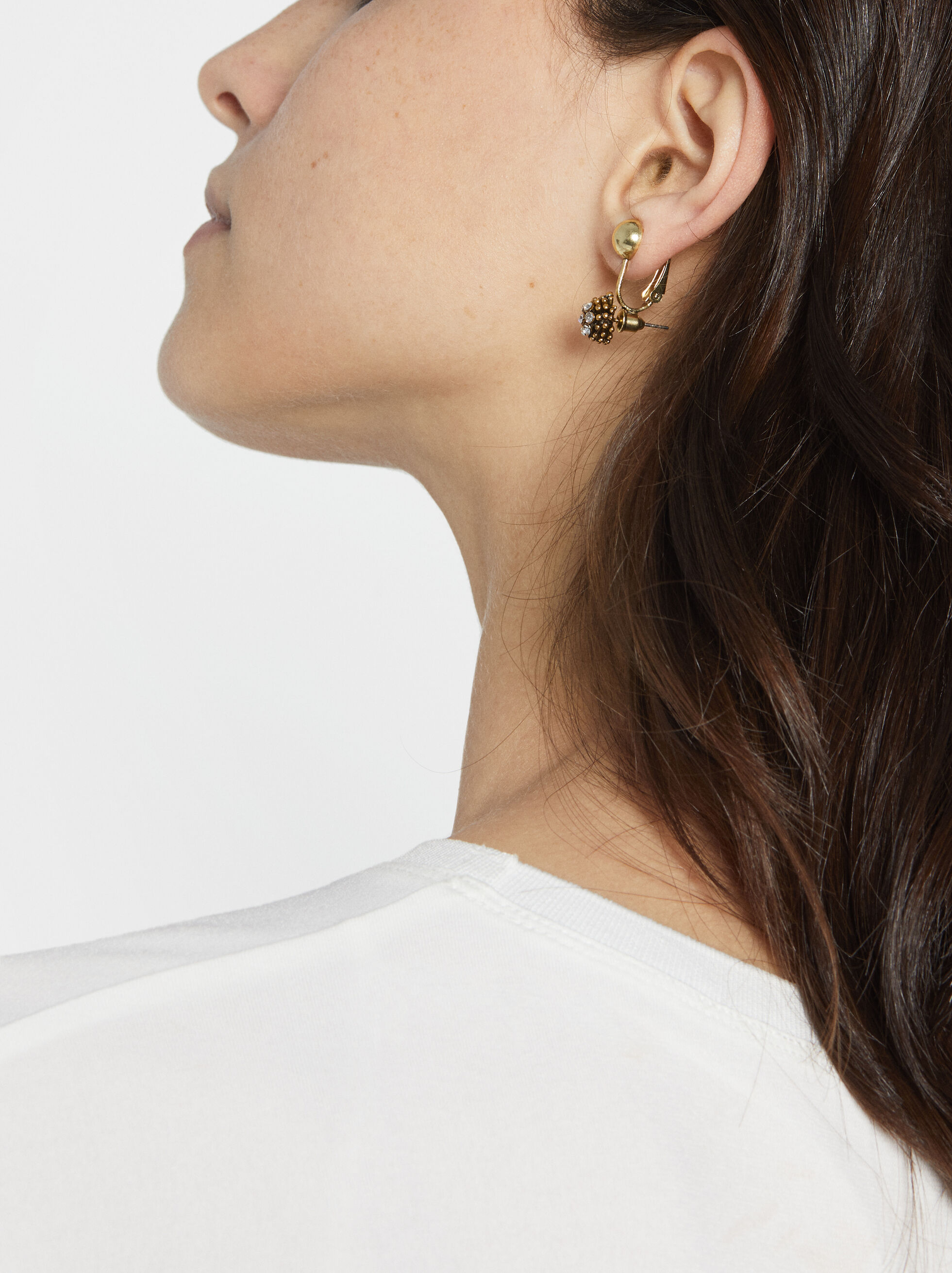 Basic Earring Converter, Golden, hi-res
