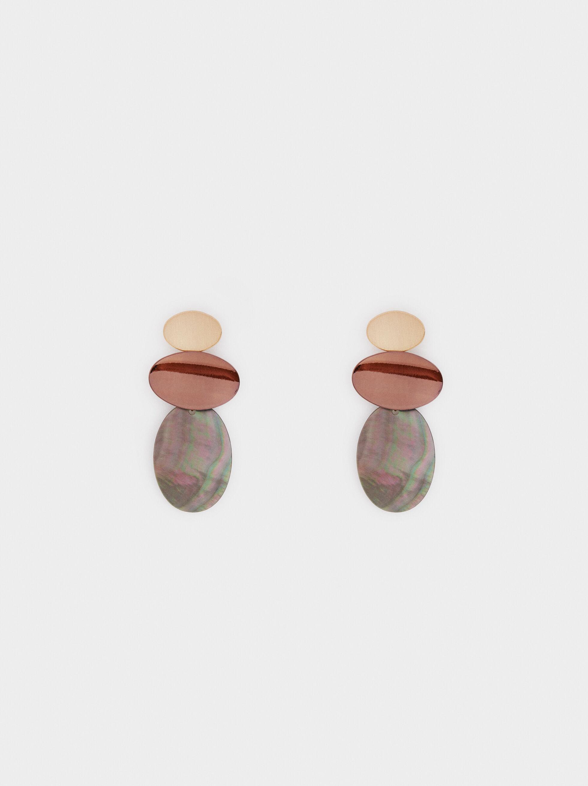 Blog Medium Earrings, Multicolor, hi-res
